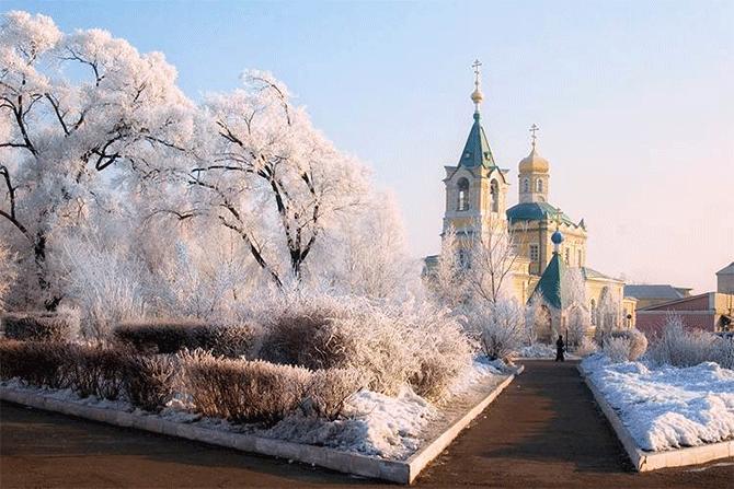 Паратунка и путешествие в зимний Уссурийск.