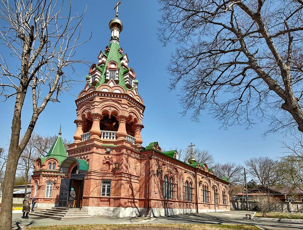 Монастыри Владивостока и о.Русский.